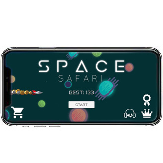 Space Safari mockup